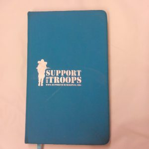 Support Our Troops PU Notebook